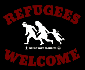 Refugees are wellcome